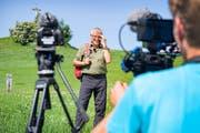 Victor Rohner hört auf mit seiner beliebten Wanderserie. Die Sommertour 2019 ist seine letzte. (Bilder: Urs Bucher)