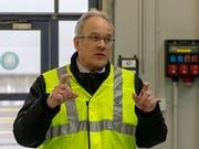 Erich Lagler tritt nach der scharfen Kritik durch die Geschäftsprüfungskommission des Basler Grossen Rats als Direktor der Basler Verkehrs-Betriebe zurück. (Bild: KEYSTONE/GEORGIOS KEFALAS)