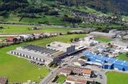 Hauptsitz der Dätwyler Holding in Schattdorf. Der Hauptsitz des Dätwyler Konzernbereichs Sealing Technologies liegt in Schattdorf, Uri. (Bild: PD)