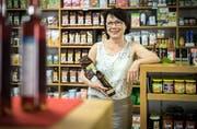Rosmarie Studer gibt ihre Apotheke im Amriswiler Einkaufszentrum Amriville ab und eröffnet neu ein Reformhaus mit regionalen sowie Bio-Produkten. (Bild: Reto Martin)