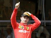 Nimmt den Grand Prix von Österreich am Sonntag in Spielberg aus der Pole-Position in Angriff: Ferrari-Fahrer Charles Leclerc (Bild: KEYSTONE/AP/CLAUDE PARIS)