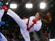 Elena Quirici greift an den Europa-Spielen in Minsk nach einer Medaille (Bild: KEYSTONE/EPA/ZURAB KURTSIKIDZE)