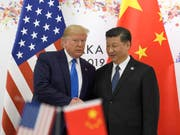 US-Präsident Donald Trump will US-Lieferungen an den chinesischen Technologiekonzern Huawei wieder erlauben. (Bild: KEYSTONE/AP/SUSAN WALSH)