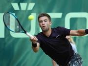 Rasensaison vorzeitig beendet: Borna Coric verletzte sich vor Wimbledon (Bild: KEYSTONE/EPA/FOCKE STRANGMANN)