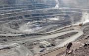 Blick in eine chinesische Mine, in der Seltene Erden abgebaut werden. (Bild: Reuters (16. Juli 2011))