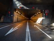 Nach dem Abebben des Rückreiseverkehrs am verlängerten Auffahrtswochenende gibt es keinen Stau mehr am Gotthardtunnel. (Bild: Pablo Gianinazzi/Keystone/Ti-Press)