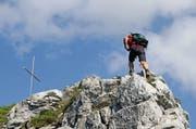 Der Gipfel des Haggenspitz. (Bild: Erhard Gick)