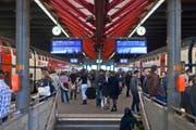 Die Fahrgäste wurden gebeten, in Winterthur umzusteigen, um nach Wil zu gelangen. (Bild: Keystone)