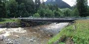 So sieht die alte Notbrücke über die Grosse Entlen aus. (Bild: PD)