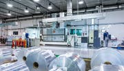 Mit dem Börsengang soll weiteres Wachstum finanziert werden: Aluflexpack-Werk in Zadar, Kroatien. (Bild: PD)