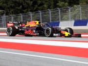 Max Verstappen im Red Bull wiederholte beim GP von Österreich in Spielberg seinen Sieg aus dem Vorjahr (Bild: KEYSTONE/AP/RONALD ZAK)
