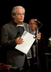 Ein Bild aus dem Jahr 2011: Niklaus Meyer erhielt damals den Anerkennungspreis der Stadt St.Gallen. (Bild: Ralph Ribi)