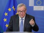 Am EU-Sondergipfel am Sonntagabend soll der Streit über die Nachfolge von Kommissionschef Jean-Claude Juncker nach einer fünfwöchigen Hängepartie beigelegt werden. (Bild: KEYSTONE/EPA/STEPHANIE LECOCQ)