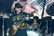 Carlos Santana auf der Bühne im Napa Valley vor zwei Wochen. (Bild: Jim Bennett/Getty Images)