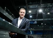 EVZ-Trainer Dan Tangnes bittet am 3. August zum ersten Vorbereitungsspiel aufs Eis. (Bild: Stefan Kaiser, Zug, 25. April 2018)