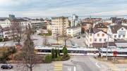 Die Bahnlinie zwischen Goldach und dem Rorschacher Hauptbahnhof soll bis 2035 durchgehend doppelspurig sein. (Bild: Urs Bucher)