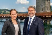 Jacqueline Theiler und Damian Hunkeler (Bild: PD)