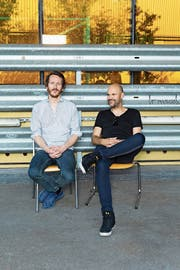 Co-Intendanten Benjamin von Blomberg (links), Nicolas Stemann: Theater als kollektive Kunstform. (Bild: PD)