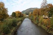 Die Thur in Wattwil. (Bild: Martin Knoepfel)
