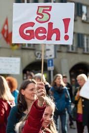 Der Widerstand gegen 5G wächst. (Bild: Peter Klaunzer/Keystone)