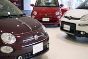 Der Mutterkonzern des Fiat 500 und Panda, Fiat Chrysler, bleibt eigenständig. (Bild: Toru Hanai/Bloomberg (Tokyo, 27. Mai 2019)