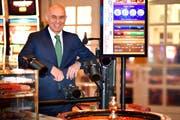 Freut isch über die erhaltene Konzession: Casino-CEO Wolfgang Bliem. (Bild: PD)
