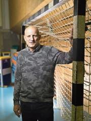 Giorgio Behr: Handballspieler, Spielertrainer, Trainer, Präsident und Multimillionär. (Bild: Gaëtan Bally/KEY)