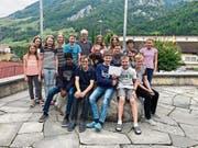 Die siegreichen Dallenwiler Schüler. (Bild: PD)
