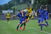 Nach dem Spiel gegen Ibach tritt Altdorf am Samstag, 8. Juni, gegen Novazzano an. (Bild: Urs Hanhart, Altdorf, 5. Juni 2019)