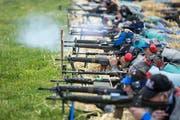 In Ausserrhoden werden Schützinnen und Schützen aus der ganzen Schweiz erwartet. (Bild: KEYSTONE/Alexandra Wey)