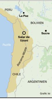 Atacama Wüste Karte.Lithium Sturm Auf Das Weisse Gold Luzerner Zeitung