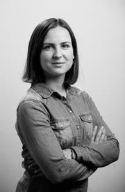Redaktorin Laura Sibold