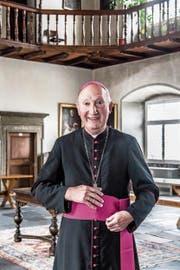 Er will die Einheit im Bistum Chur stärken: der Apostolische Administrator Peter Bürcher. (Bild: Nadia Schärli, Chur, 6. Juni 2019)