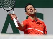 Novak Djokovic scheiterte im Halbfinal in fünf Sätzen (Bild: KEYSTONE/EPA/SRDJAN SUKI)