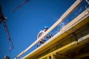 Die grosse Bautätigkeit in den vergangenen Jahren führte bei den Eigentumswohnungen zu mehr Leerständen. (Bild: Benjamin Manser)