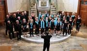 Der Chor Novum schlug Brücken zwischen Menschen und Kulturen. (Bild: Max Pflüger)