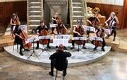 Instrumentales Intermezzo mit «Cello Pur». (Bild: Max Pflüger)