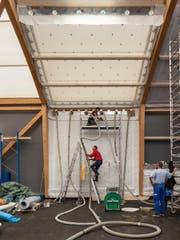 Der Prototyp bei der Firma HP Gasser in Lungern. (Bild: HSLU)