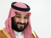 Seine Schwester hat Ärger wegen eines mutmasslich verprügelten Handwerkers in ihrer Luxuswohnung: der saudische Kronprinz Mohammed bin Salman. (Bild: KEYSTONE/EPA SPUTNIK POOL/MIKHAEL KLIMENTYEV/SPUTNIK/KREMLIN POO)