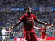 Lief in der Champions League zu grosser Form auf: der belgische Internationale Divock Origi (Bild: KEYSTONE/AP/BERNAT ARMANGUE)