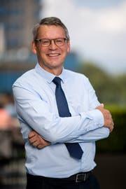 OK-Präsident Karl Vogler. (Bild: Philipp Schmidli)