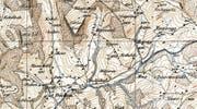 Auf der Siegfried-Karte von 1879 ist der Weiler als Hünenswil verzeichnet. (Bild: PD)