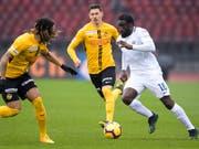 Christian Fassnacht (Mitte) fehlt den Young Boys beim Start in die neue Super-League-Saison (Bild: KEYSTONE/ANTHONY ANEX)