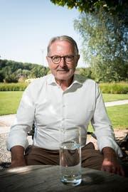 Hermann Hess, Mehrheitsaktionär der SBS. (Bild: Beat Belser)
