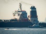 Ein Patrouillenboot der britischen Marine stoppte am 4. Juli einen Supertanker mit iranischem Öl in der Nähe Gibraltars. Nun sollen iranische Militärschiffe versucht haben einen britischen Öltanker zu stoppen. (Bild: Marcos Moreno /AP Keystone) (Bild: KEYSTONE/AP/MARCOS MORENO)