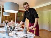 Mit neuem Konzept möchte Matthias Stocker den «Best of Swiss Gastro» gewinnen.Bild: Karin Erni