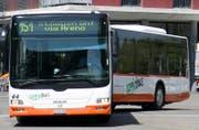 Der Vorfall ereignete sich in einem Regiobus zwischen Gossau und St.Gallen. (Bild: Mareycke Frehner)