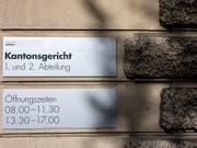 Ein ehemaliger Luzerner Informatikchef hat in der Berufungsverhandlung wegen Korruption auf Freispruch plädiert. (Bild: KEYSTONE/ALEXANDRA WEY)