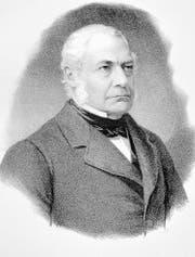 Verehrt und verachtet: Regierungsrat und Ständerat Gall Jakob Baumgartner (1797-1869).