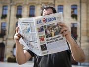 Die Vorgänge bei der Waadtländer Lokalzeitung «La Région» werfen hohe Wellen. Über 800 Unterzeichner missbilligen die «verschleierte Entlassung» in einer Petition an den Verwaltungsrat. (Bild: Keystone/JEAN-CHRISTOPHE BOTT)